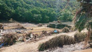 Flutkatastrophe 2021 - hier Flutschäden in Bad Neuenahr-Ahrweiler